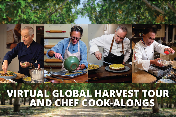 Virtual Global Harvest Tour and Chef Cook-Alongs