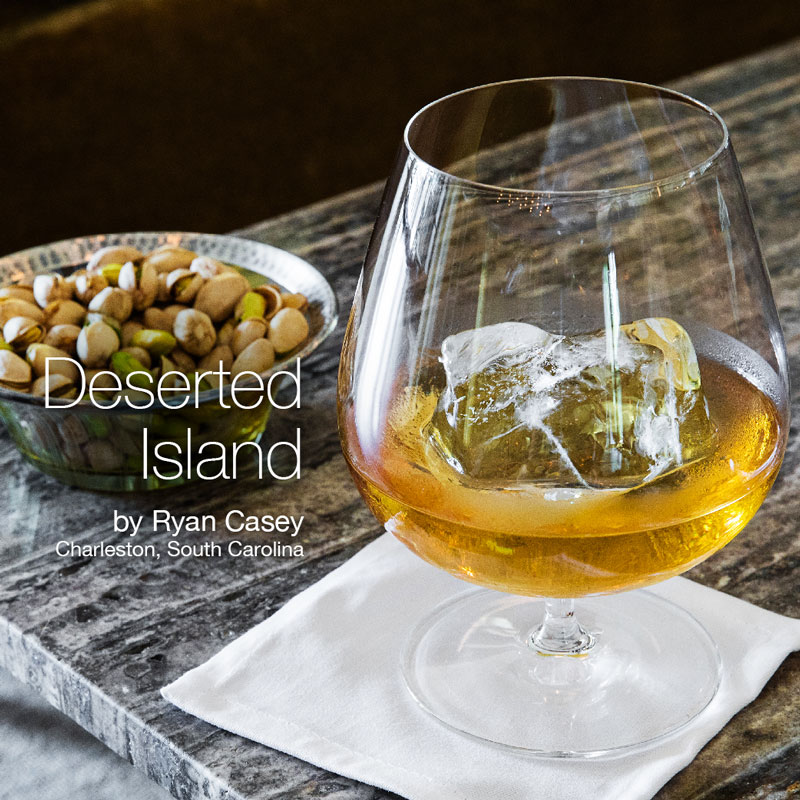 Holiday Cocktails - Deserted Island