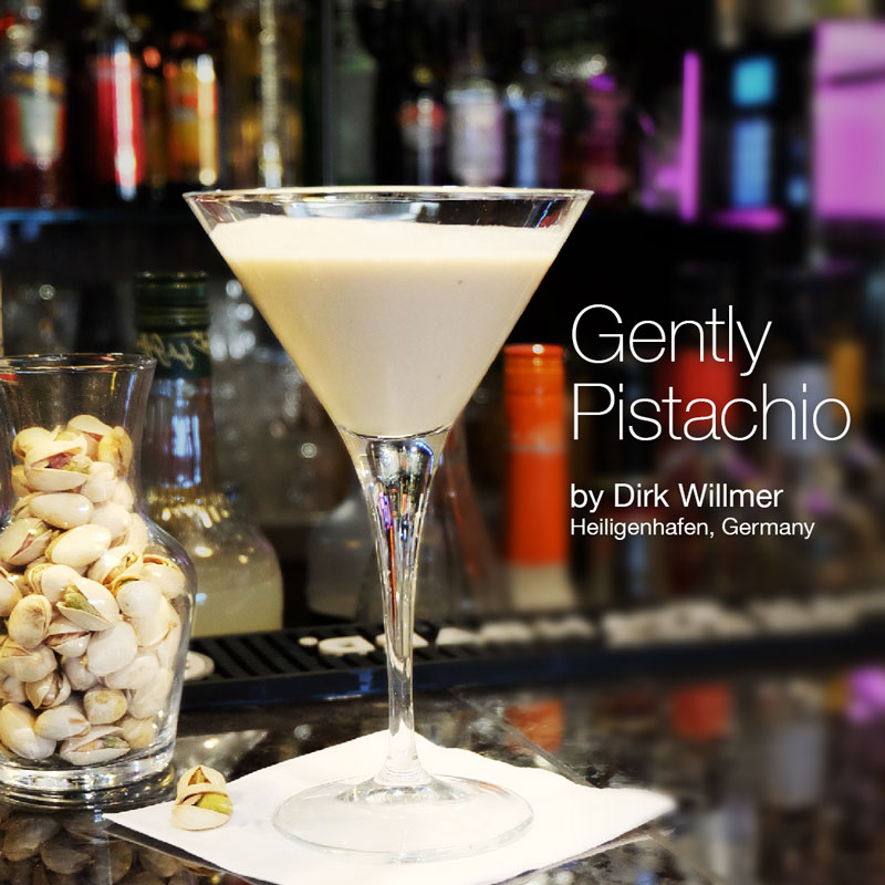 Holiday Cocktails - Gently Pistachio