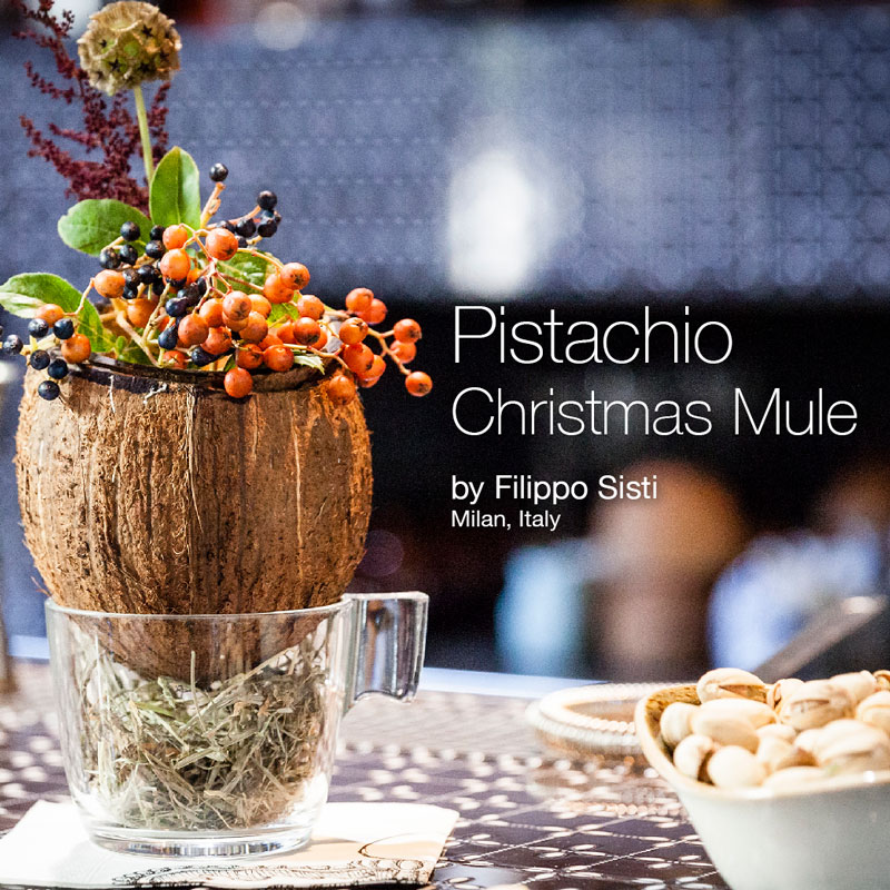 Holiday Recipes - Pistachio Christmas Mule