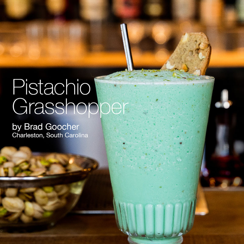 Holiday Recipes - Pistachio Grasshopper
