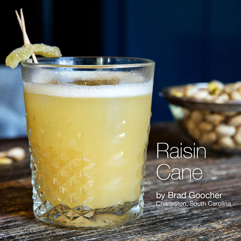 Holiday Cocktails - Raisin Cane