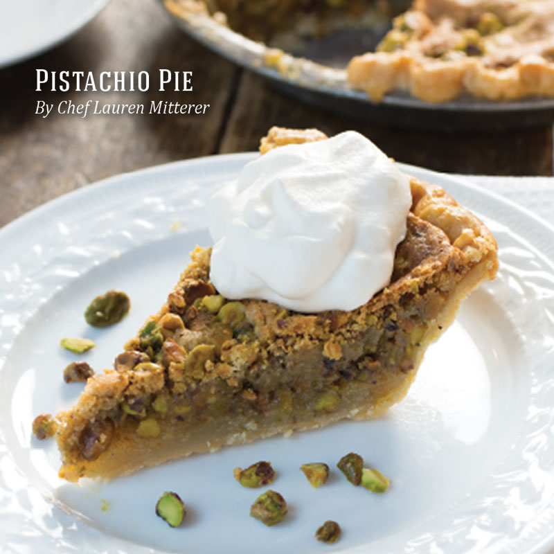 Holiday Recipes - Pistachio Pie