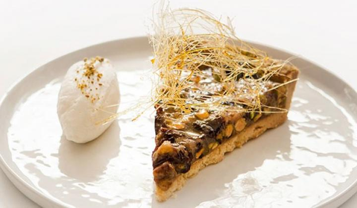 Pistachio and Prune Tart