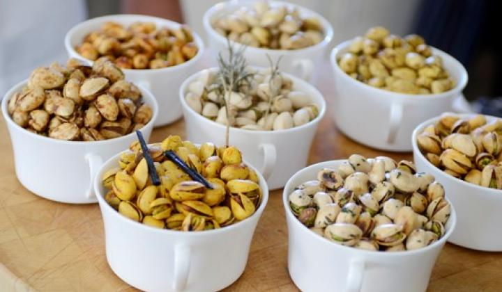 Sweet Paprika Crusted Pistachios