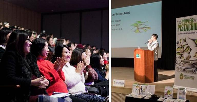Nutrition Seminar in South Korea